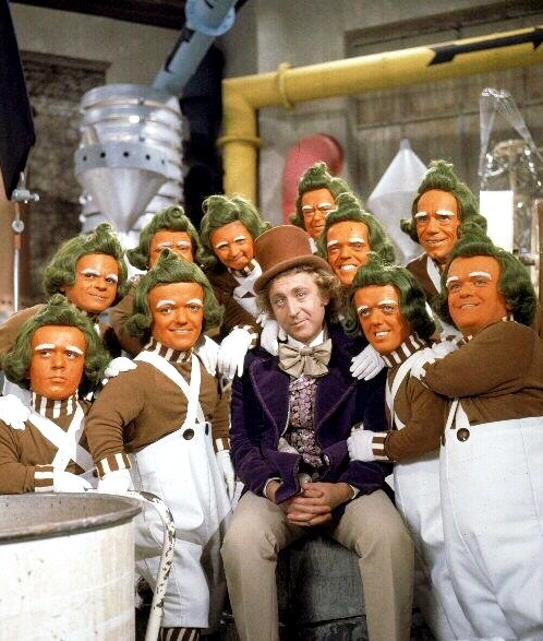 oompa loompa willy wonka and the chocolate factory 1971 gene wilder