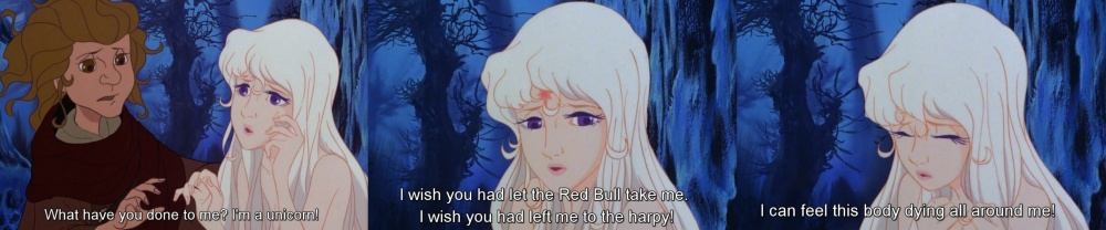 the last unicorn lady amalthea